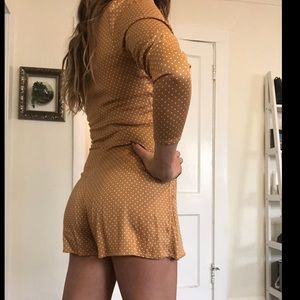 Urban Outfitters Dresses - Long sleeve romper
